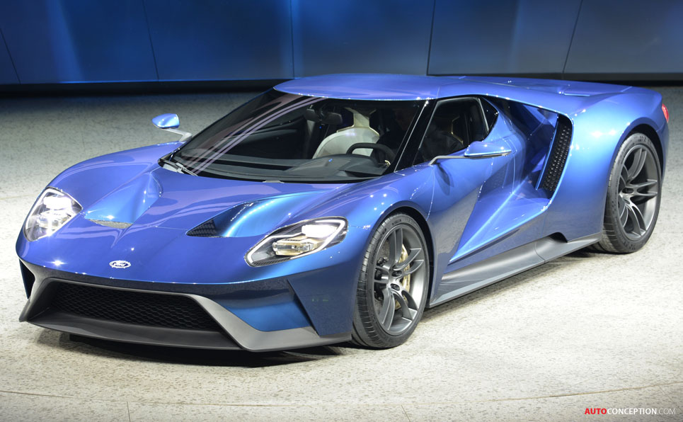 Ford GT Named 'Most Significant Concept Vehicle' of the Year