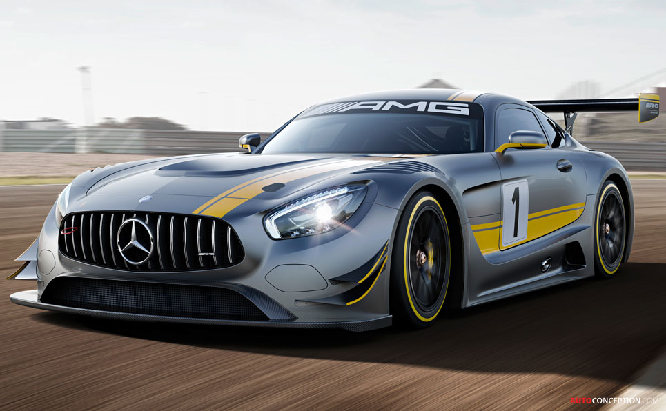 Mercedes-AMG GT3 Unveiled Ahead of Geneva Debut