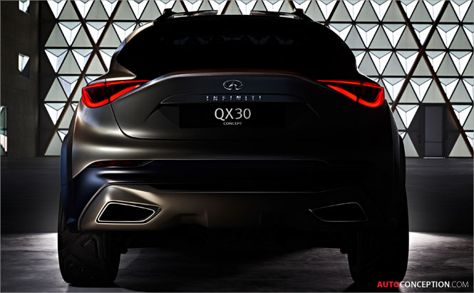 New Infiniti QX30 Concept Previewed Ahead of Geneva Reveal