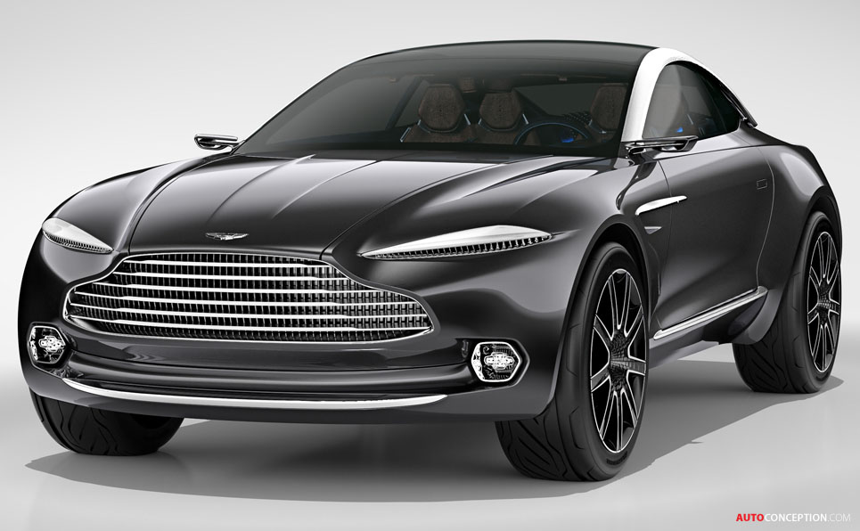 Aston Martin DBX Concept Previews New Crossover GT ...