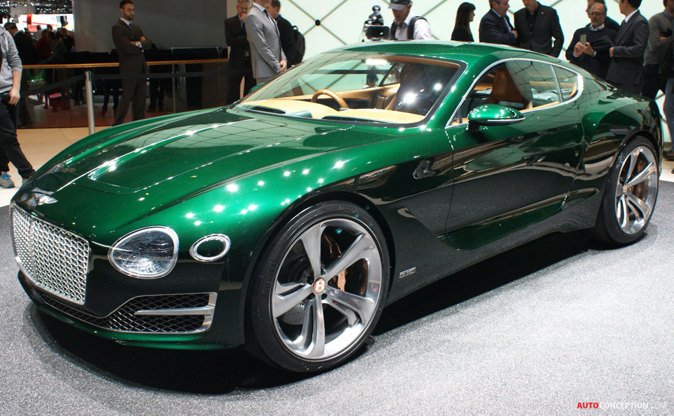 Bentley EXP 10 Speed 6 Concept Previews New GT Sports Car ...
