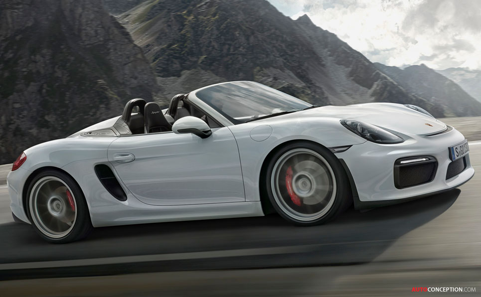 New Porsche Boxster Spyder Is the Most Powerful Yet