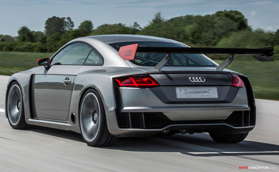 Audi Reveals New Pictures and Video of 592 BHP TT Clubsport Turbo