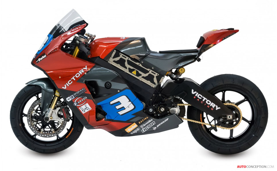 Victory to Race Prototype Electric Motorcycle at the Isle of Man TT