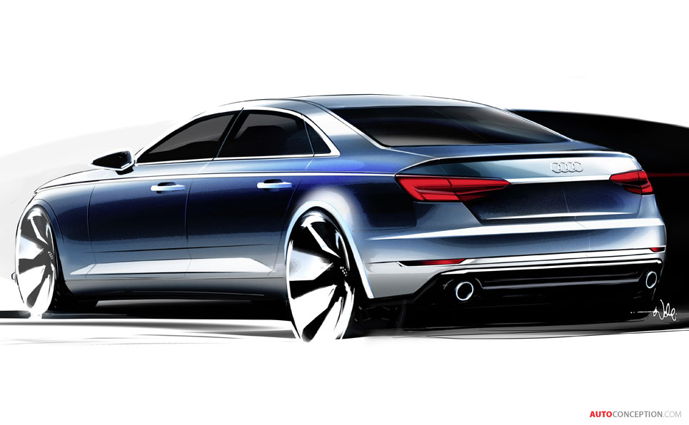 New Audi A4 Unveiled