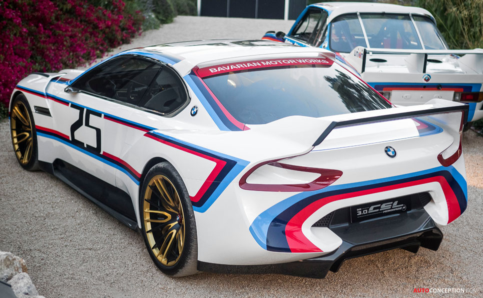 BMW 3.0 CSL Hommage R Concept Revealed