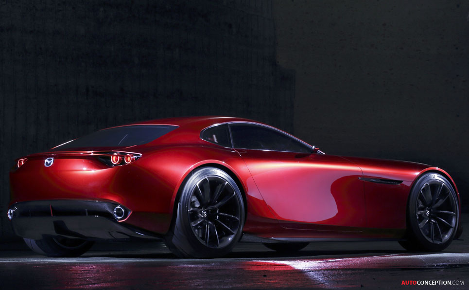 Mazda Unveils Rotary Engined Rx Vision Concept Car