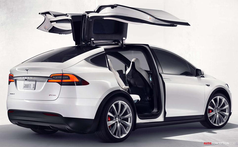 Tesla Enters Suv Market With All New Model X