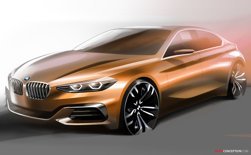 BMW Concept Compact Sedan Revealed at Guangzhou Motor Show