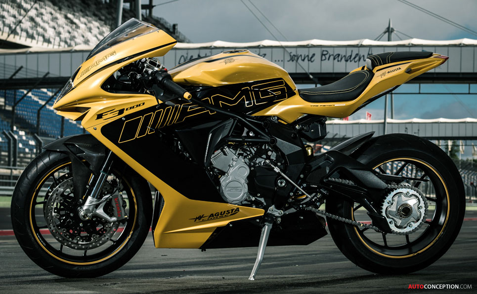 2016 MV Agusta Brutale 800 and Lewis Hamilton Dragster RR Unveiled at EICMA