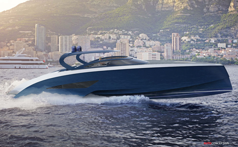 New Bugatti Yacht Revealed - AutoConception.com