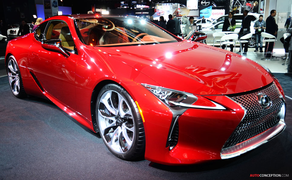 LC 500 Coupe Heralds the Beginning of a New Performance Era for Lexus