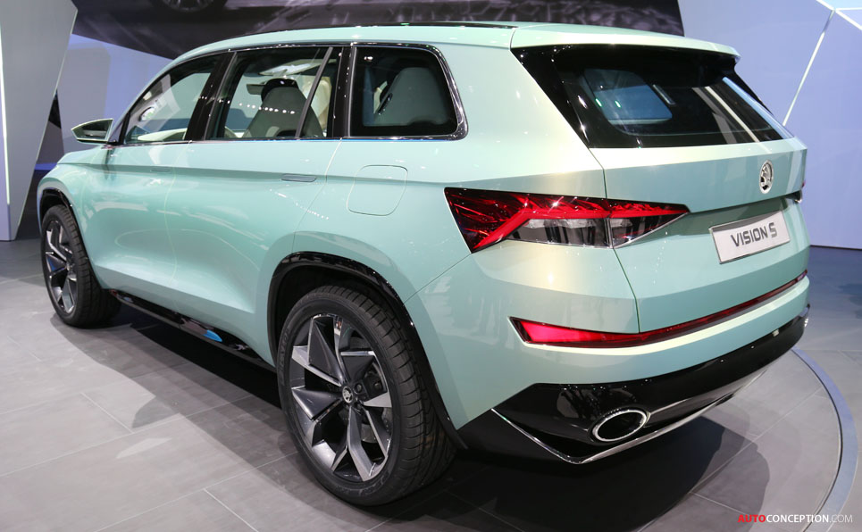 New SKODA Kodiaq Previewed in Official Sketches