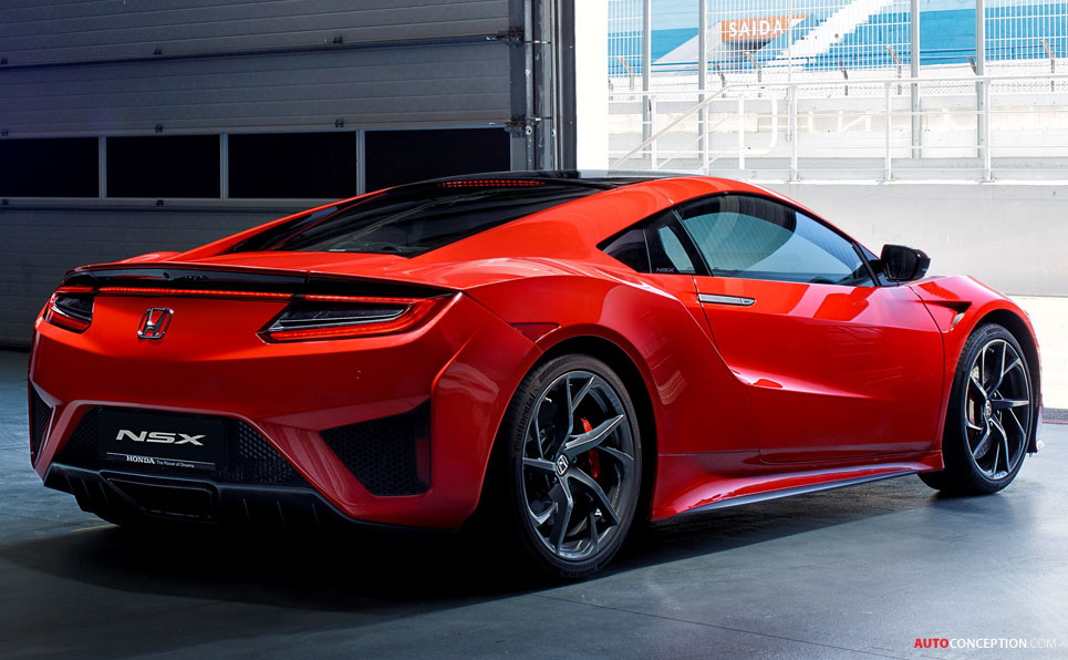 2016 Honda NSX - New Pictures and Video - AutoConception ...
