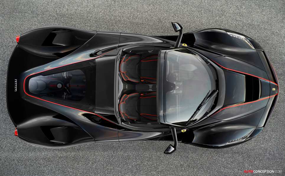 Revealed – First Images of LaFerrari Spider