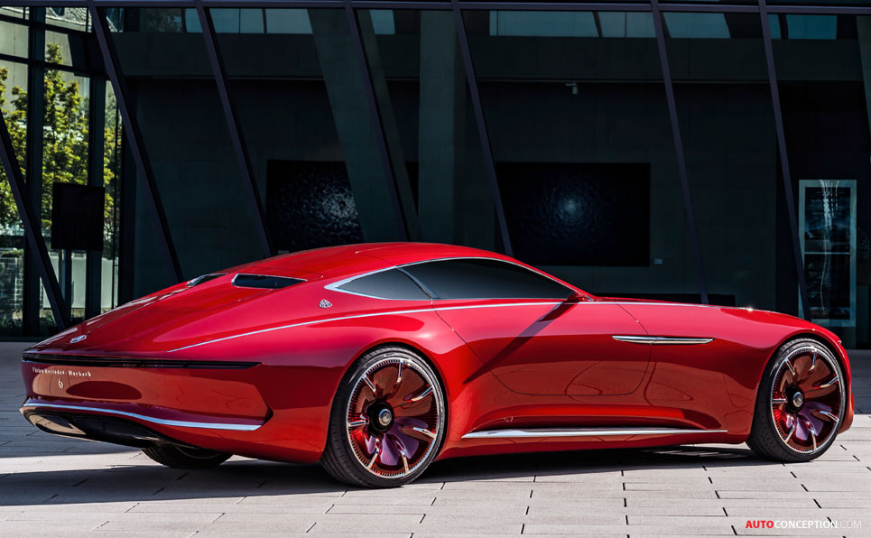 Vision Mercedes-Maybach 6 Concept Officially Revealed