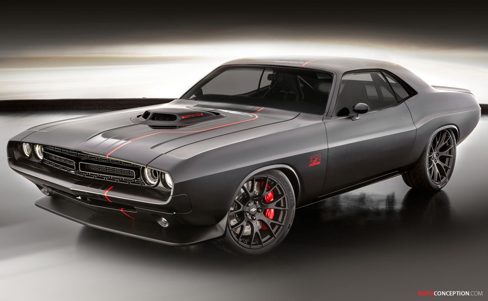 Dodge Shakedown Challenger Concept Makes SEMA Debut ...