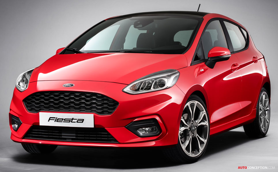 Next Generation Ford Fiesta Unveiled