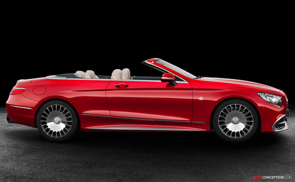 Mercedes-Maybach S 650 Cabriolet Unveiled at LA Auto Show