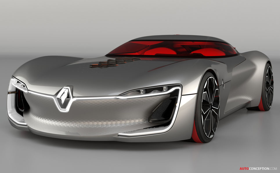 Renault Trezor Voted 'Most Beautiful Concept Car of 2016 ...