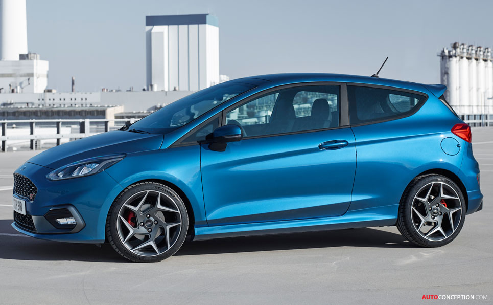 2017 Ford Fiesta ST Officially Unveiled