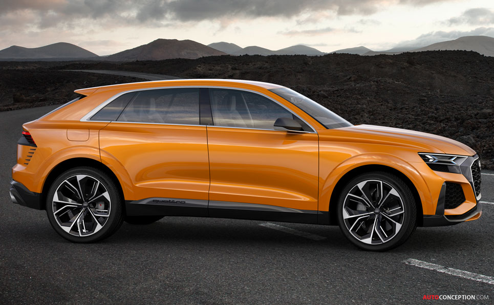 Audi Q8 Sport Concept Previews New Large SUV ...