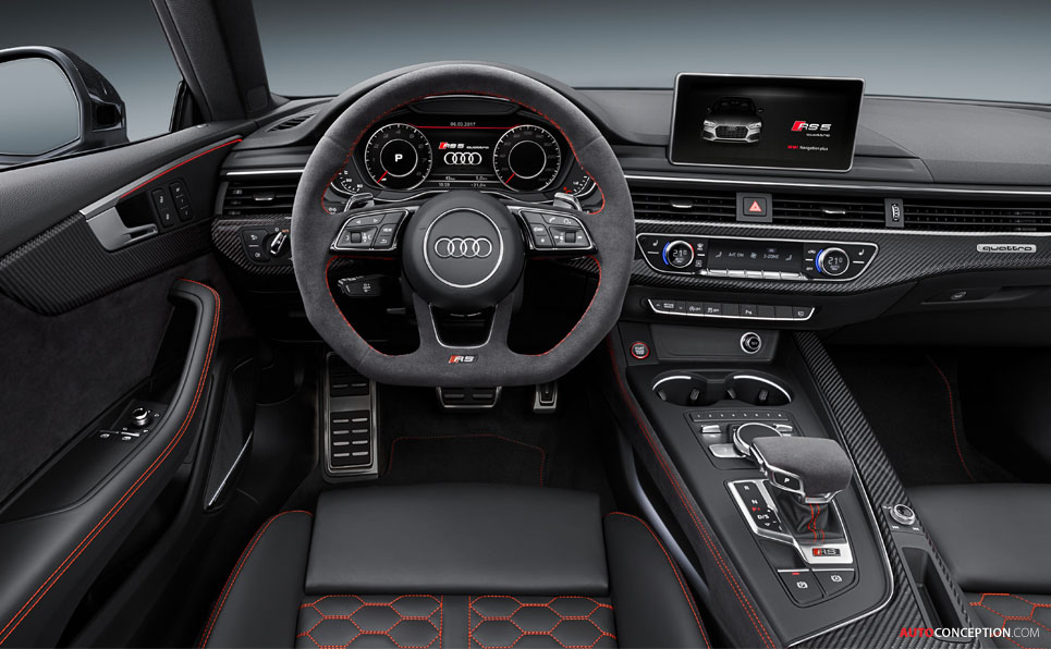 Second-Generation Audi RS 5 Coupé Gets More Power and New Design