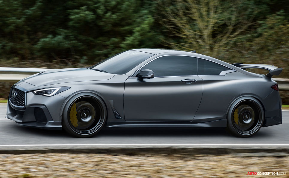 Infiniti Q60 'Project Black S' Revealed - AutoConception.com