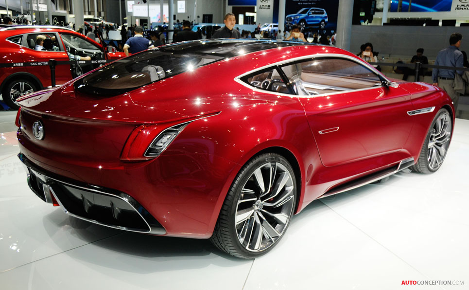 Mg E Motion Concept Could Make Production In 2020