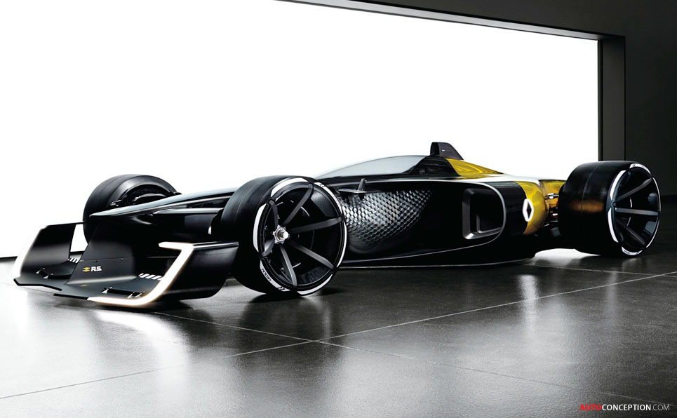 Renault R S 2027 Vision Concept Previews F1 Racing Cars