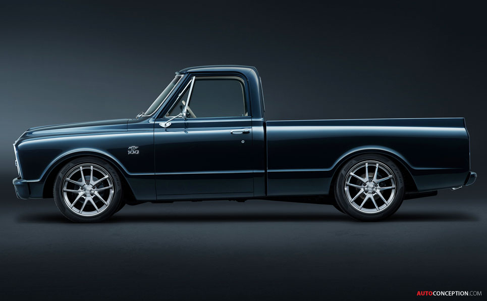 Chevy Reveals Retro C-10 Pick-Up Truck Ahead of SEMA 2017 ...