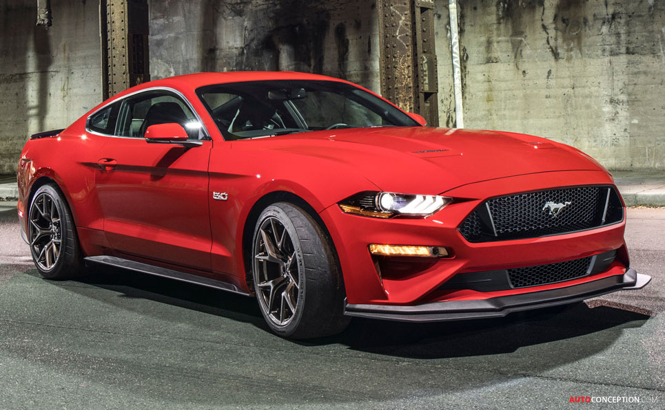 2018 Mustang GT Gets More Aerodynamic with New ...