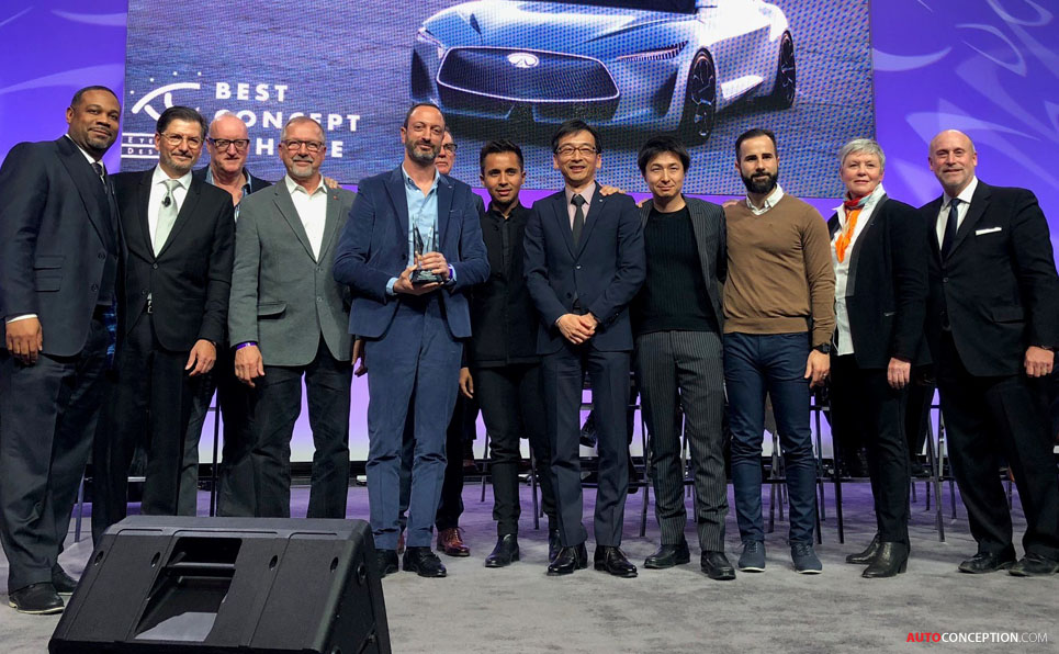 Infiniti Q Inspiration Wins 'Best Concept Vehicle' and 'Best Designed Interior' Awards at Detroit Auto Show
