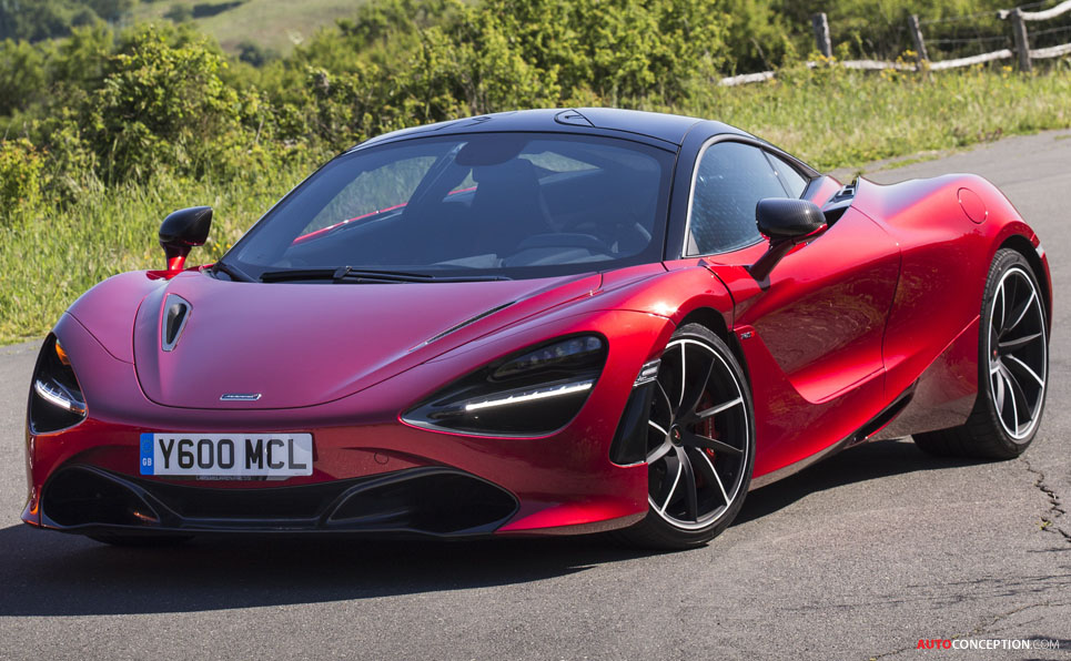 McLaren 720S Crowned 'Most Beautiful Supercar of the Year ...