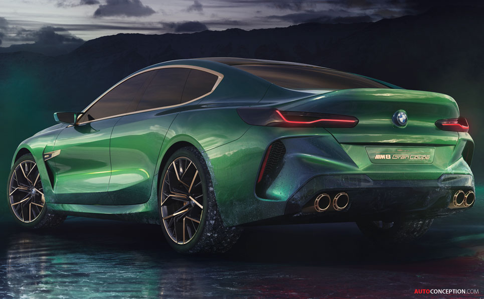 BMW 'Concept M8 Gran Coupe' Previews New 8 Series Flagship ...