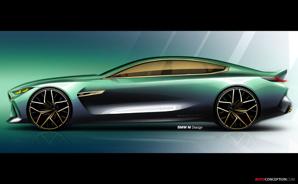 Jaguar F Type Coupe >> BMW 'Concept M8 Gran Coupe' Previews New 8 Series Flagship ...
