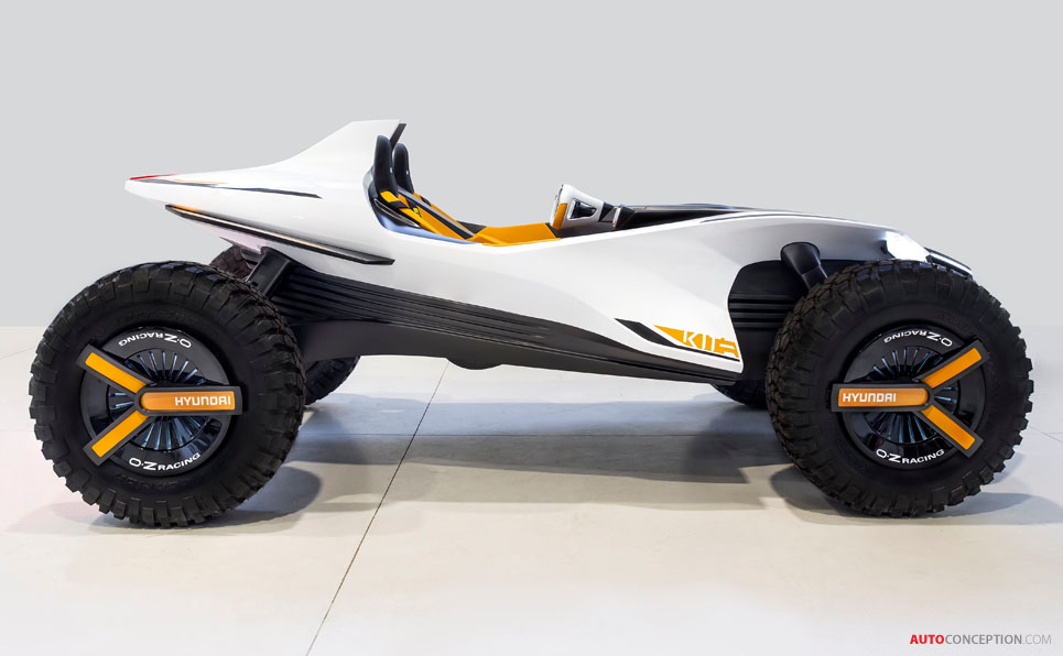 Hyundai 'Kite' Concept Is an Electric Buggy and Jet-Ski All-in-One