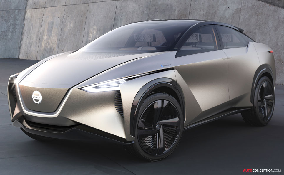 Nissan 'IMx KURO' Concept Gets Blacked Out for SUV Look