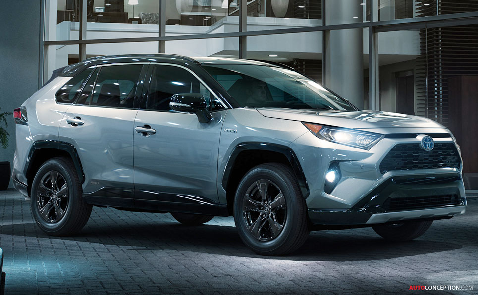 Nissan March Tuning >> All-New 2019 Toyota RAV4 Unveiled at New York Auto Show - AutoConception.com
