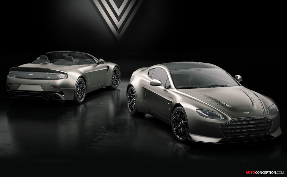 Limited Edition Aston Martin V12 Vantage V600 Unveiled