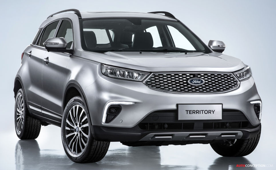 Ford Targets China with New 'Territory' SUV