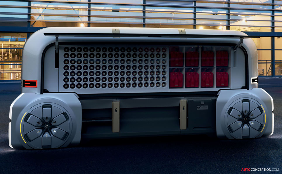 Renault's 'EZ-PRO' Is an Autonomous Delivery Van of the ...