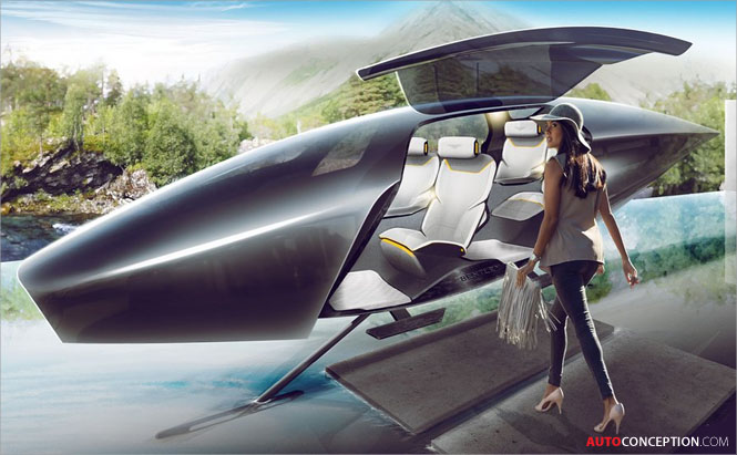 Bentley Envisions How Automotive Luxury Will Look in 2050