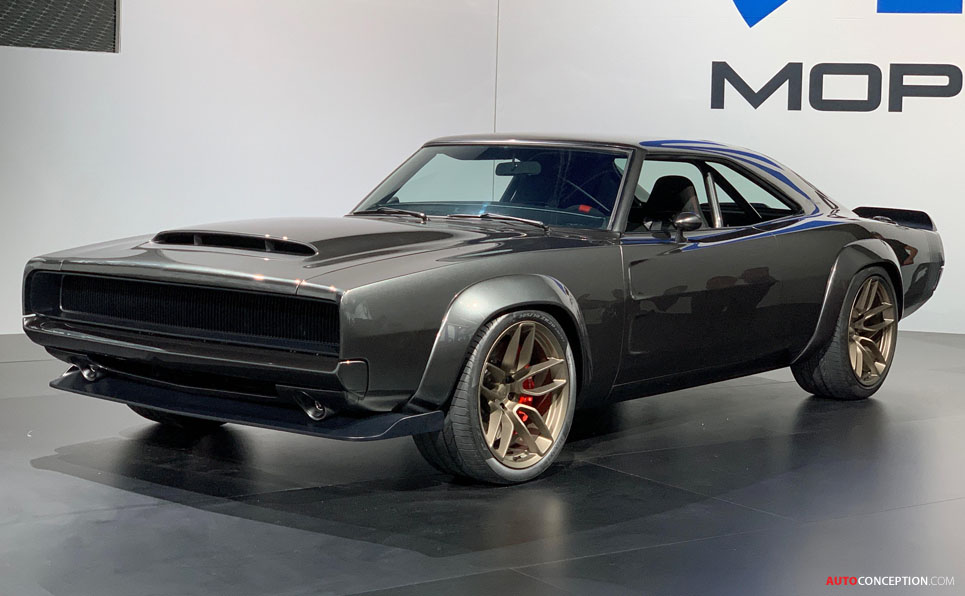 1968 Dodge 'Super Charger' Muscle Car Concept Takes SEMA ...
