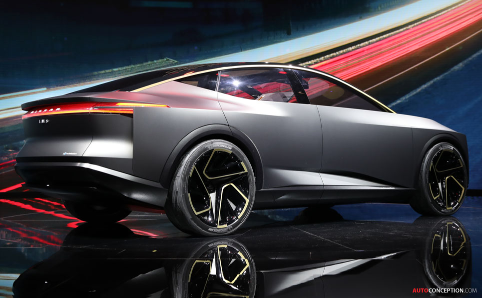 Nissan 'IMs Concept' Revealed in Detroit