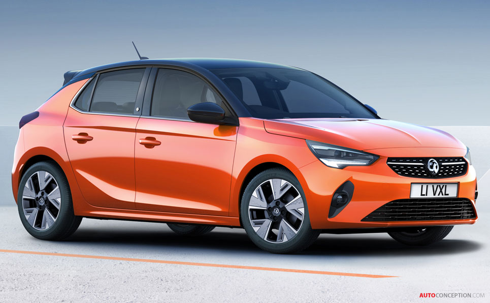 Vauxhall Unveils All-Electric Corsa