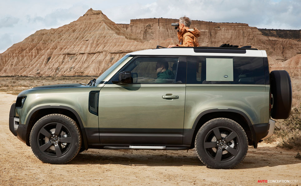 All-New Land Rover Defender Unveiled