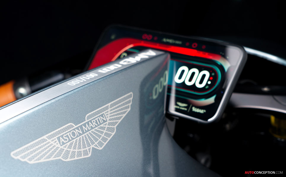 Aston Martin unveils its first ever motorbike - the