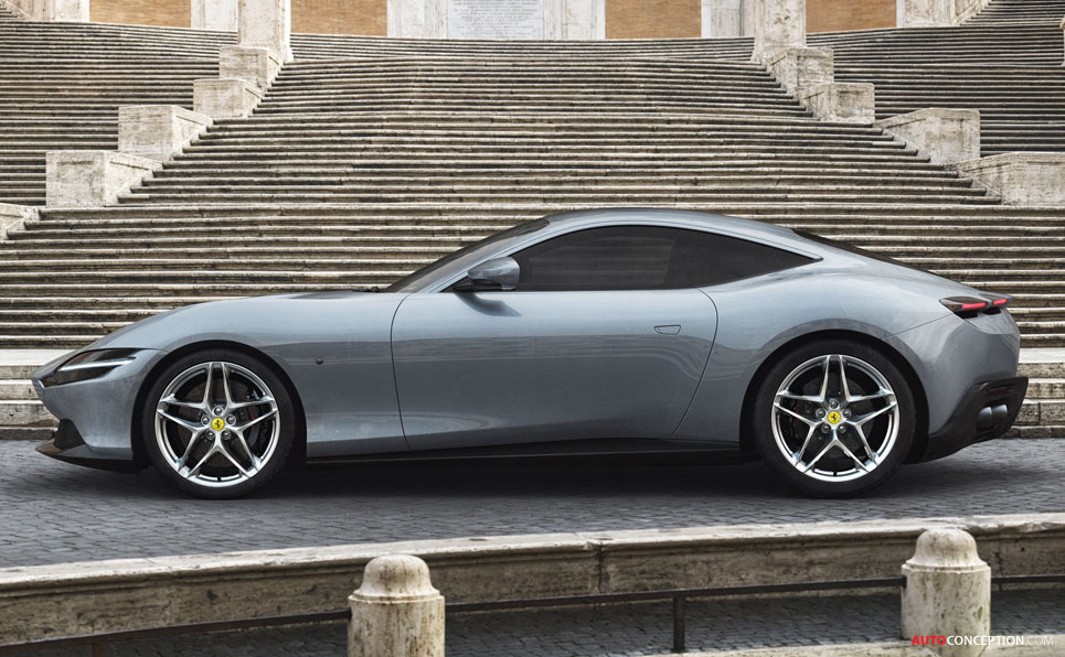 First Images Revealed of Brand New Ferrari 'Roma'
