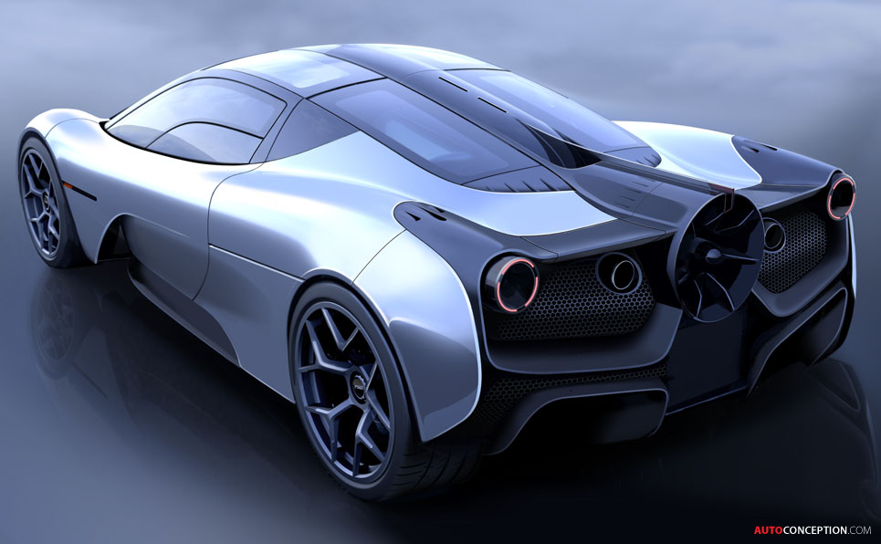 First Image of Gordon Murray's T.50 'Ground Effect' Hypercar Revealed